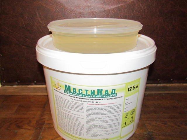 Клей герметик полиуретановый двухкомпонентный битумная мастика на крыше