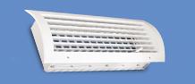 Купити Ґрати вентиляційні дворядна радіальна без демпфера EMC-R-U, приточная, витяжна, системи вентиляції