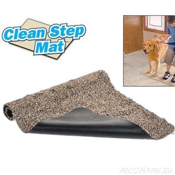 Купить Супервпитывающий Коврик Clean Step Mat | придверный коврик