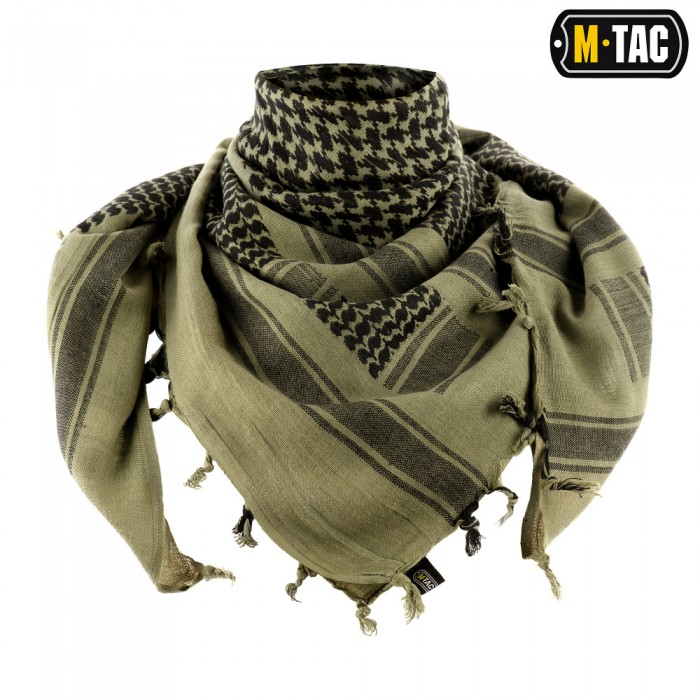 Buy M-Tac shemagh scarf thick foliage green / black