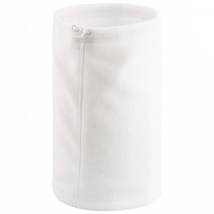 Купить M-Tac шарф-труба короткий с затяжкой флис (260 г/м2) Elite белый