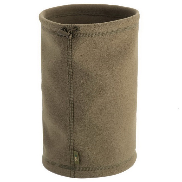 Купить M-Tac шарф-труба Elite короткий с затяжкой флис (260 г/м2) олива