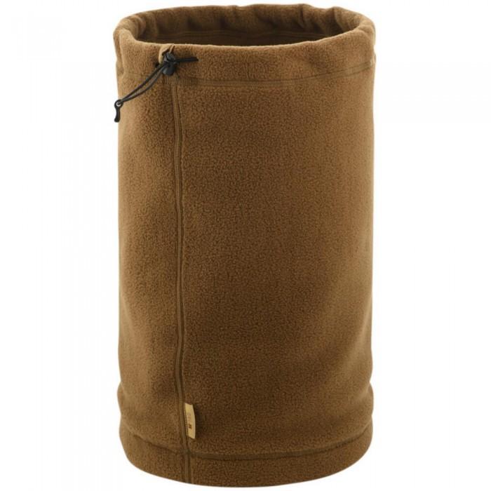 Купить M-Tac шарф-труба с затяжкой флис (330 г/м2) койот