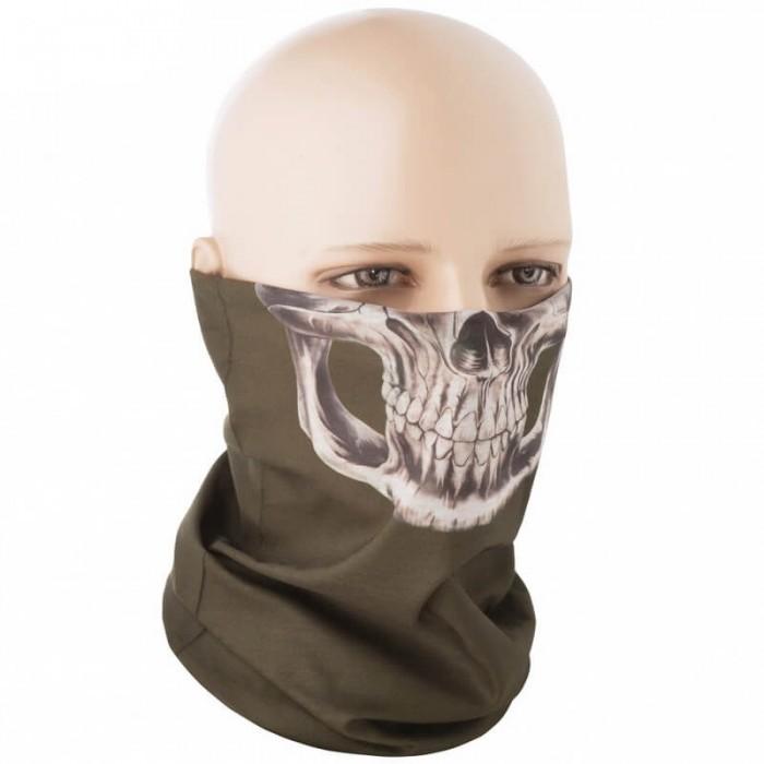 Купить M-Tac шарф-труба летний Reaper Skull олива