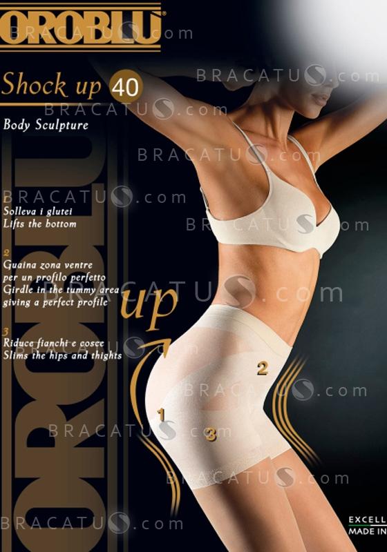 Купить Oroblu Classic Bottom Up Shock Up 40 body sculpture колготки с бразильским эффектом