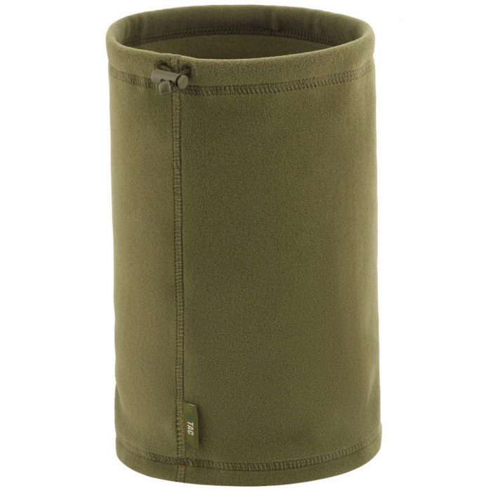 Купить M-Tac шарф-труба короткий с затяжкой Premium флис (225 г/м2) Light Olive