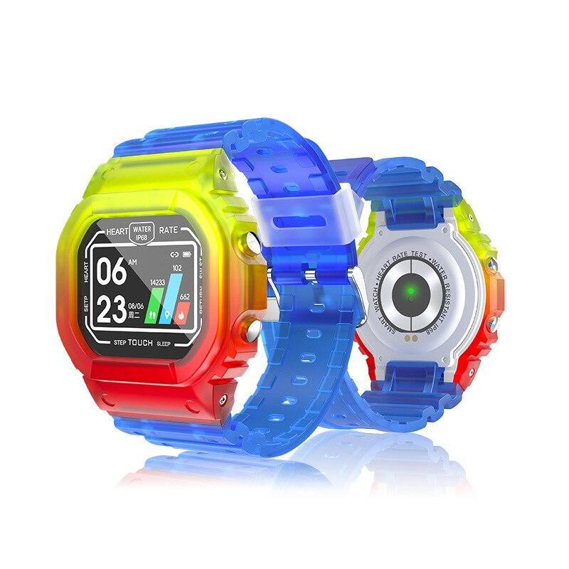 Купить Смарт-часы Lemfo K16 (тонометр, пульсометр, ip68) Разноцветный