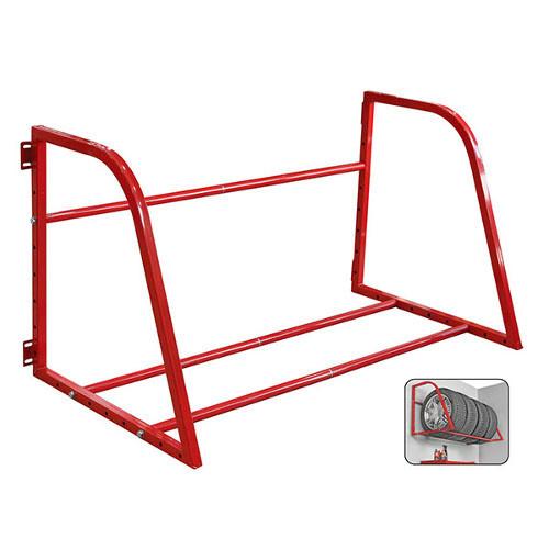 Купить Полка настенная для вертикального хранения 4 колёс TORIN TAZ8253