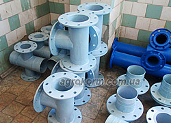 Buy Tee 4 inches flange