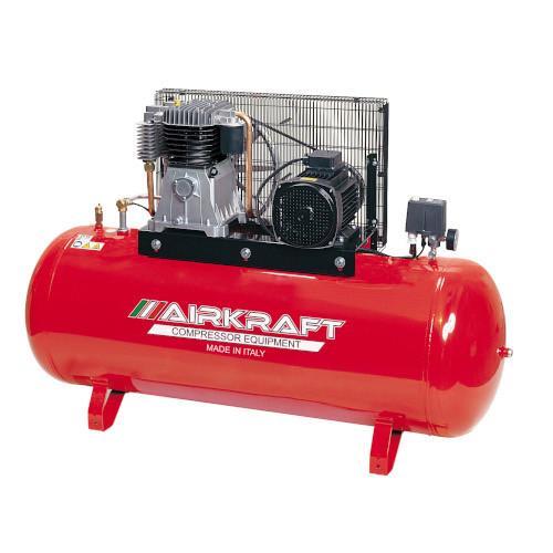 Купить Компрессор высокого давления 15bar, Vрес=300л, 858л/мин, 380V, 5,5кВт AIRKRAFT AK300-15BAR-858-380