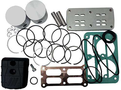 Купить Рем.комплект для компрессора AB100-360 (фильтр, клапанная плита в сборе, н-р прокладок, н-р поршней (2шт) FIAC