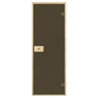 Двери для сауны  70х190 матовые, бронза
