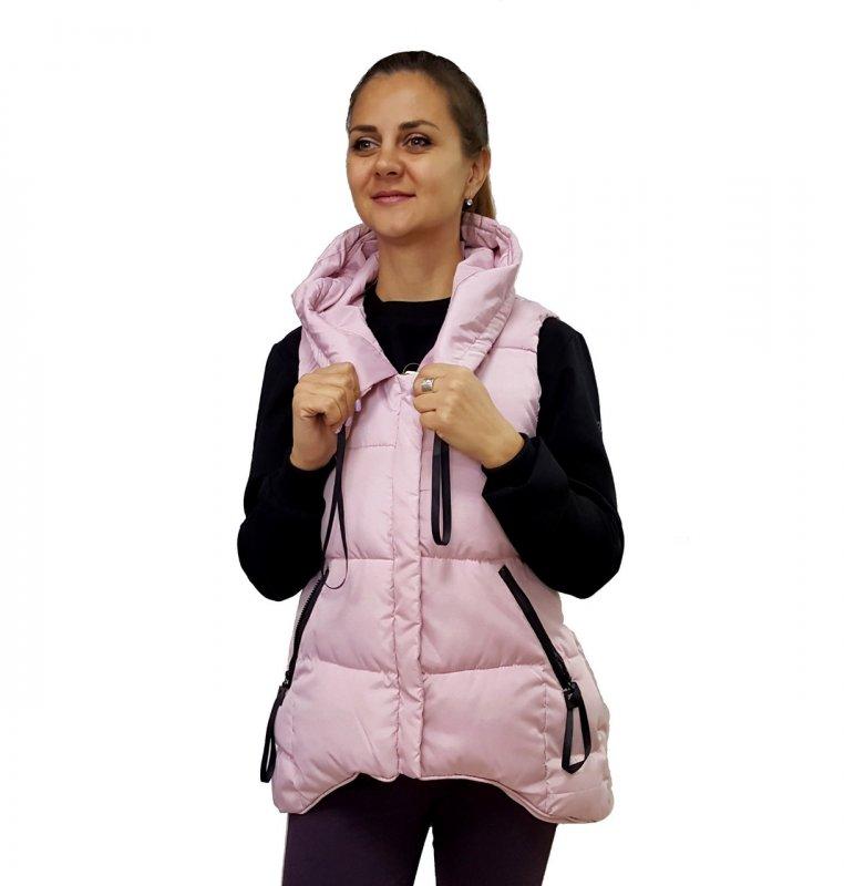 Купить Женская безрукавка,удлиненная,Женский демисезонный жилет