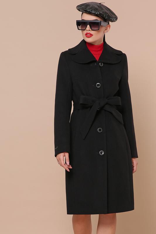 Купить Новинка! пальто женское демисезонное черное