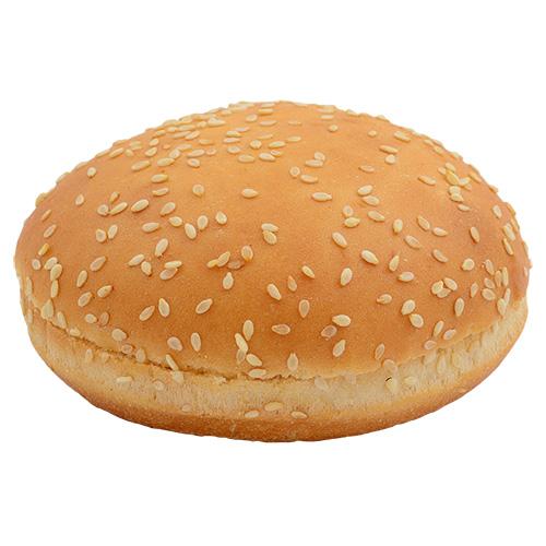 """Купить Булочка """"Для гамбургера пшеничная 50 d-10"""" с кунжутом"""