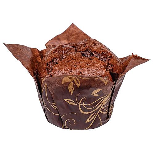 """Мафин """"Шоколадный Тюльпан 100"""" с начинкой со вкусом ириски"""