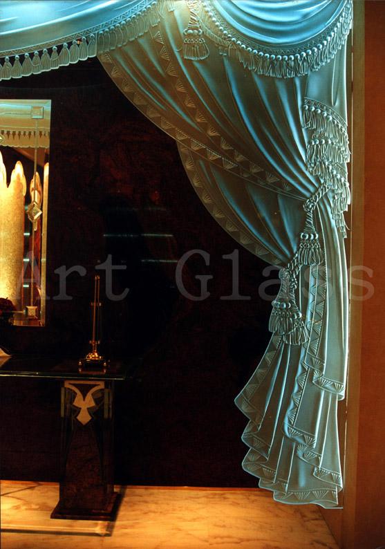 Стеклянные шторы - оригинальный дизайн, узоры и декор по стеклу, потрясающие неповторимые изделия из стекла - изготовление на заказ