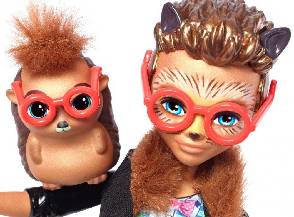 Купить Кукла Энчантималс Еж Хиксби и Поинтер Enchantimals Hixby Hedgehog Doll & Pointer