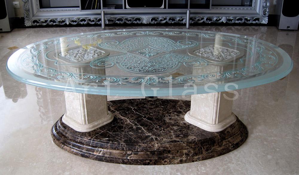 Мебель из стекла, столы стеклянные,  стеклянные барные стойки - элитная мебель класса люкс, эксклюзивное исполнение