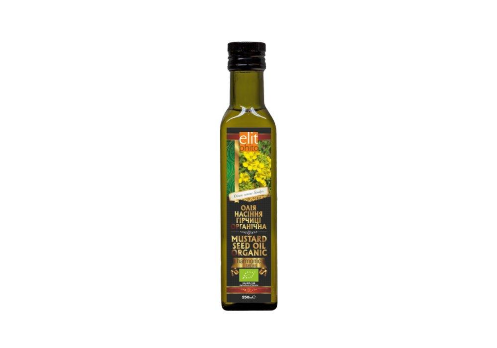 Купить Масло горчичное органическое Elit Phito 250 мл (hub_rcIM34375)
