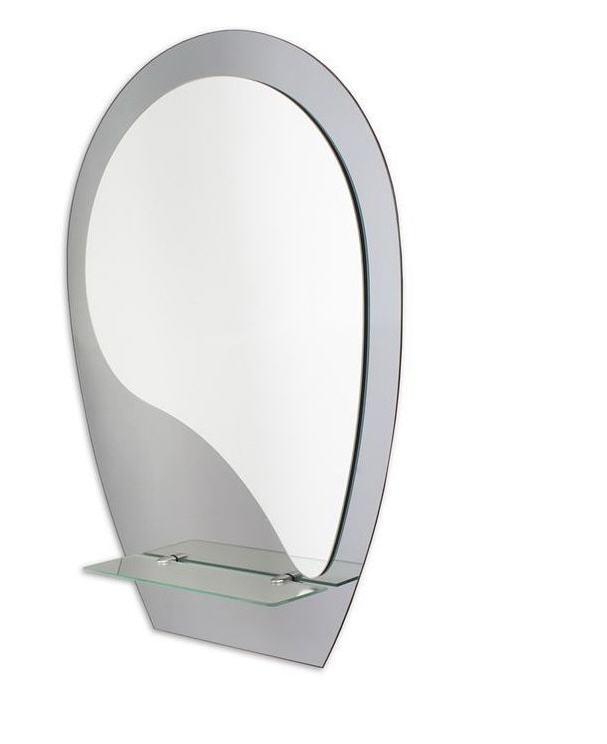 Зеркало с полочками