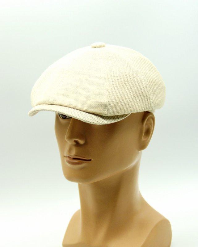 Купить Восьмиклинка кепка летняя бежевая.