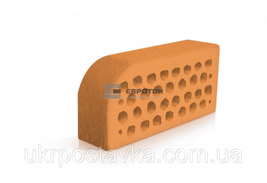 Купить Фигурный клинкерный кирпич ЕВРОТОН ВФ-5 палермо персиковый