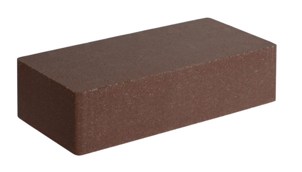 Купить Кирпич облицовочный ФАГОТ коричневый гладкий Е