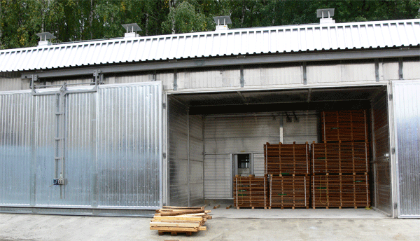 Buy Drying tunnels for wood of convective type