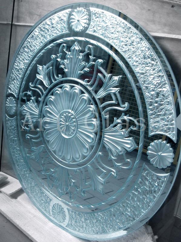 Зеркало для спальни, эксклюзивное зеркало для стильного интерьера - декор на зеркале, художественная роспись на зеркале