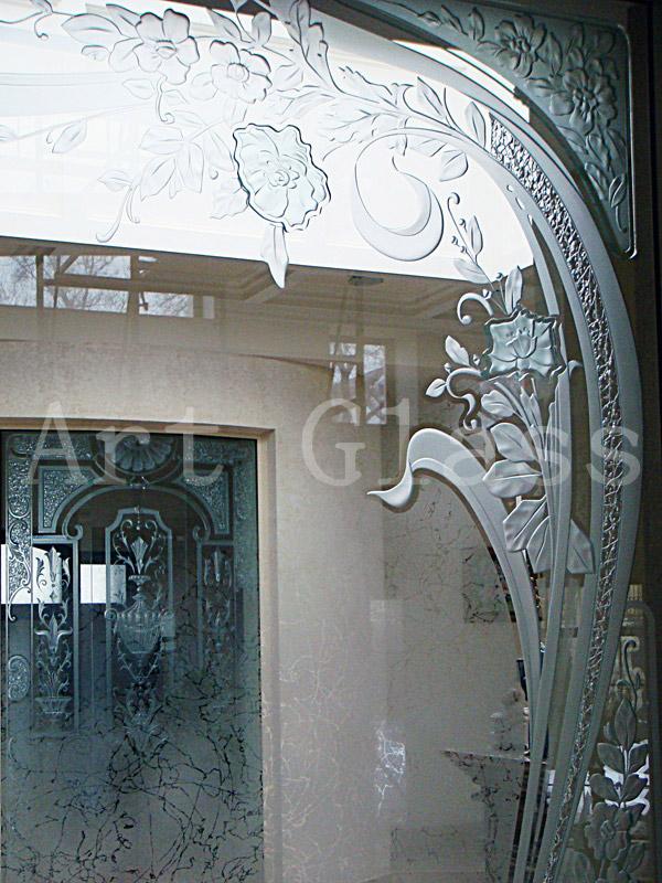 Витражи оконные, витражи для окон, витражи из цветного стекла - изготовление витражей любой сложности (фьюзинг стекла, моллирование, матирование стекла, гравировка стекла)