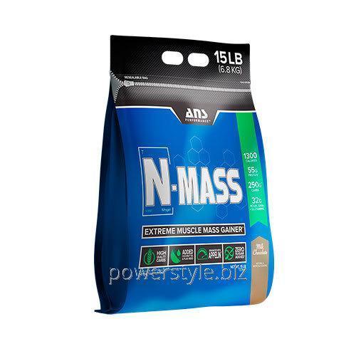 Купить Гейнер ANS Performance N-MASS US молочный шоколад 6,8 кг
