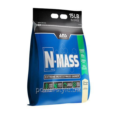 Купить Гейнер ANS Performance N-MASS US сливочная ваниль 6,8 кг