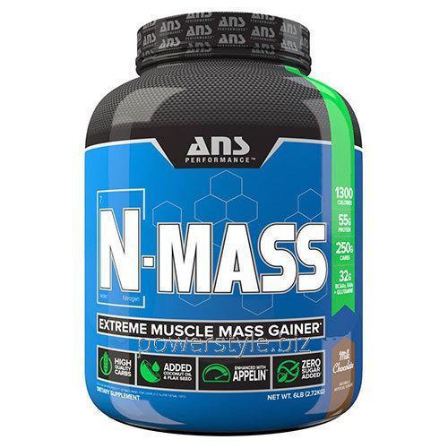 Купить Гейнер ANS Performance N-MASS US молочный шоколад 2,72 кг