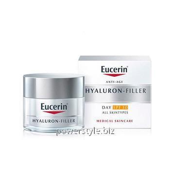 Купить Гиалурон-Филлер дневной крем против морщин для нормальной и комбинированной кожи SPF 30 ТМ Эуцерин/Eucerin 50 мл