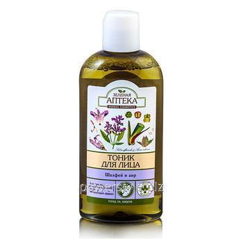 Купить Зеленая Аптека тоник для жирной и комбинированной кожи Шалфей и аир 200 мл