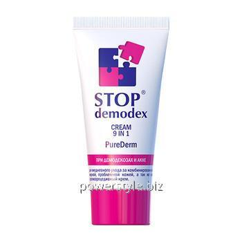 Купить Крем Pure Derm 9 в 1 Стоп Демодекс / Stop Demodex® 50 мл