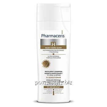 Купить Специализированный успокаивающий шампунь для чувствительной кожи головы H-Sensitonin ТМ Фармацерис