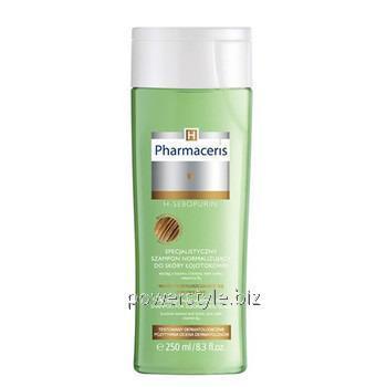Купить Специализированный шампунь для себорейной и жирной кожи головы H-Sebopurin ТМ Фармацерис/Pharmaceris