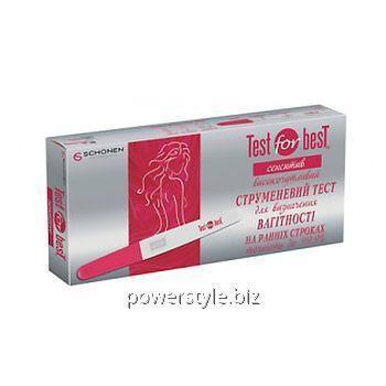 Купить Тест струйный для определения беременности на ранних сроках Сенситив №1 ТМ Тест Фор Бест/Test for B