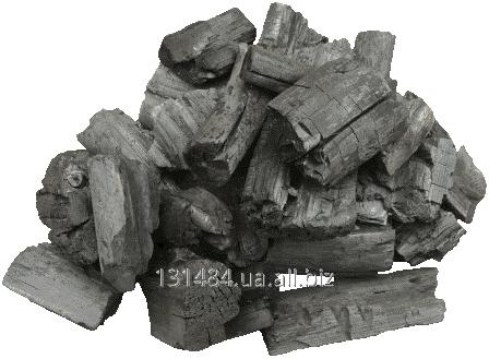Купить Уголь древесный из твердых пород древесины