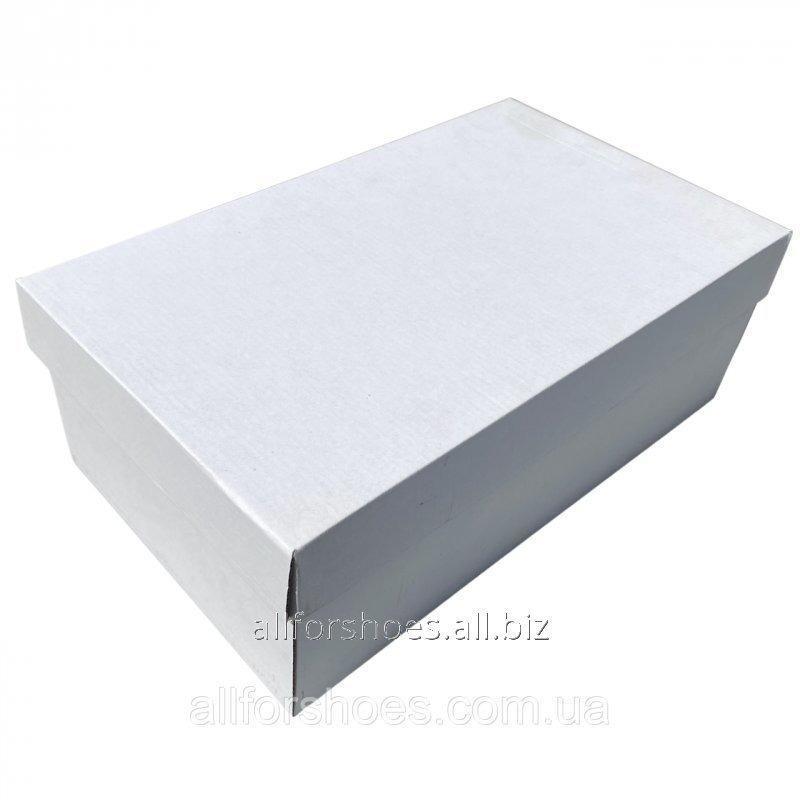 Купить Коробка белая мужская №20 (12,5*20*34)