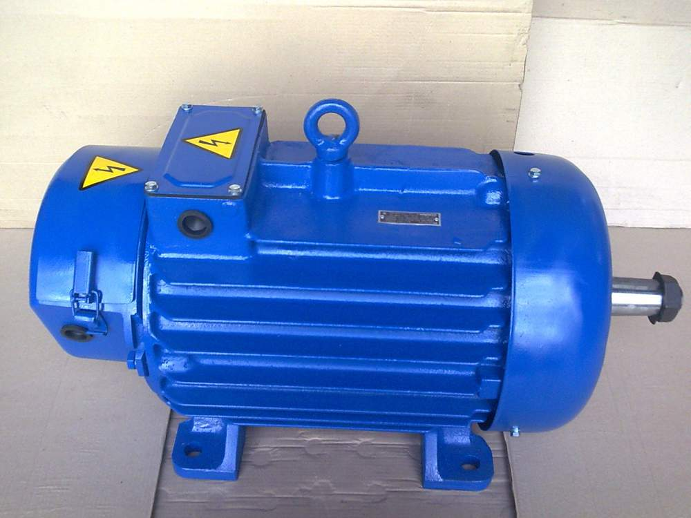 Buy ELECTRIC MOTORS 311-8 7,5 KW, CRANE WITH THE SHORT-CIRCUITED ROTOR OF MTKH, 690 ABOUT. MIN.