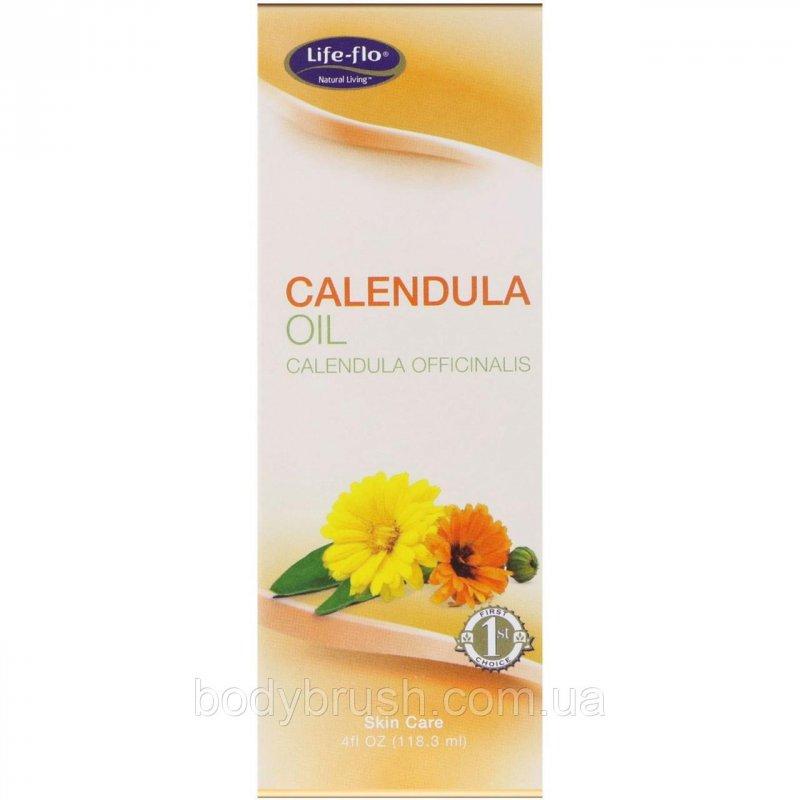 Купить Масло календулы Life-flo, 4 жидких унции (118,3 мл)