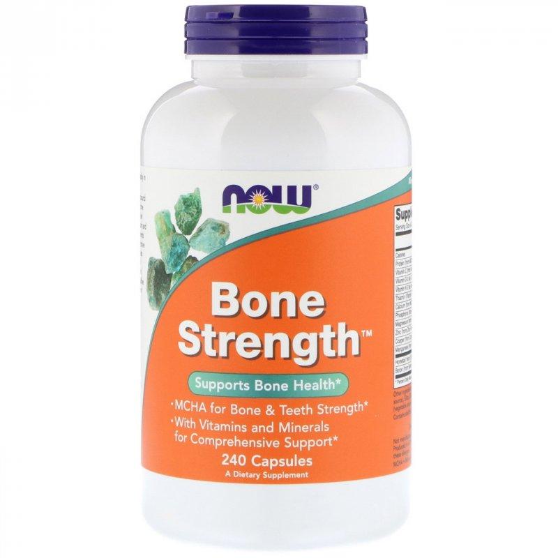 Купить Комплекс для здоровья костей Now Foods, прочные кости, 240 капсул