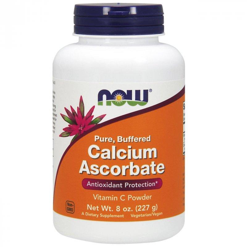Купить Витамин С в порошковой форме, буферный аскорбат кальция Now Foods , 227 г