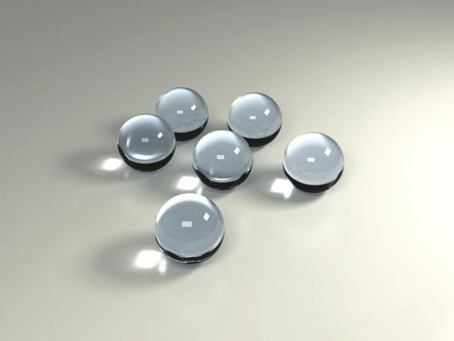 Стеклошарики, шарики стеклянные, оригинальный креативный декор из стекла - изготовление на заказ