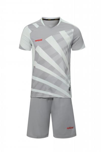 Купить Футбольная форма Europaw 023 т.серо-серый