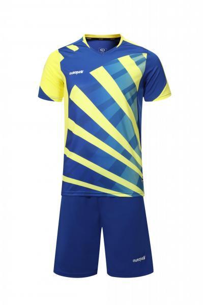 Купить Футбольная форма Europaw 023 сине-желтая