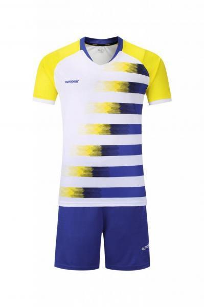 Купить Футбольная форма Europaw 021 сине-желтая